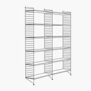 "2 Bays - 79"" High - 32"" Wide Shelves"
