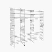 "Chef/Stemware/Sommelier - 3 Bays - 32"" Wide Shelves"