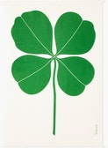 A Girard Environmental Enrichment Panel in Four Leaf Clover pattern..