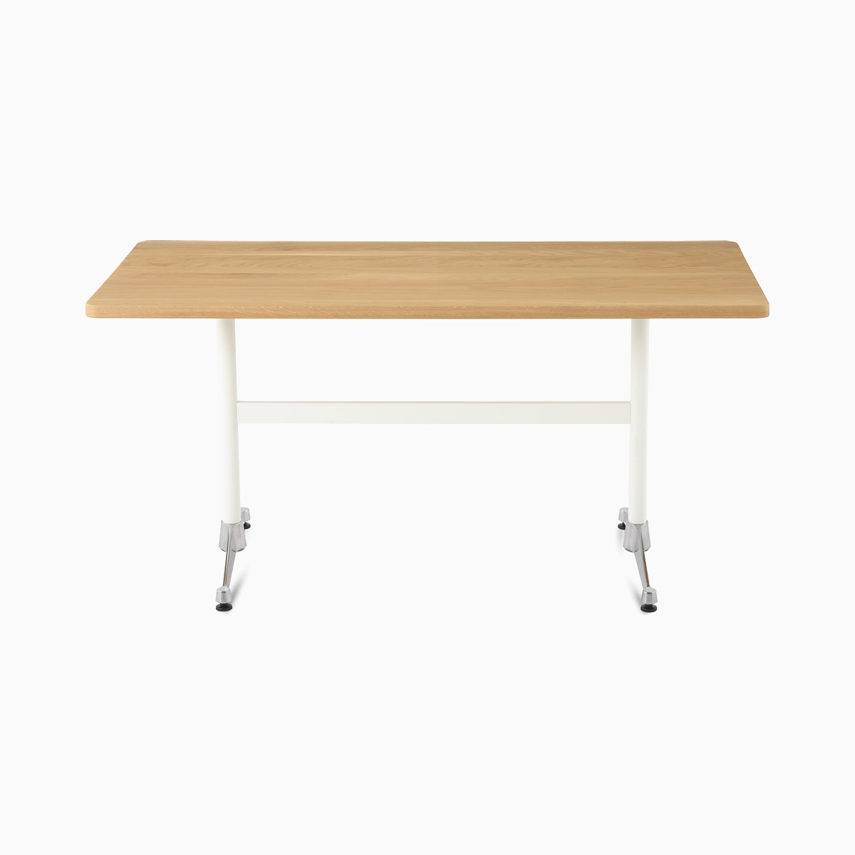 Eames Rectangular T-Leg Table