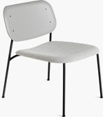 Soft Edge 10 Lounge Chair, Upholstered