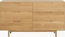 Raleigh Dresser, Six Drawer
