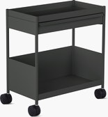 OE1 Trolley Single with Top Drawer with Bottom Shelf