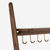 Folk Ladder Coat Rack