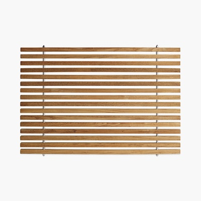 Teak Bathroom Mat