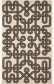 A Girard Environmental Enrichment Panel in Knot pattern.