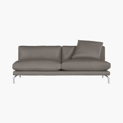 Como Armless Sofa