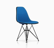 Eames Upholstered Shell Side Chair