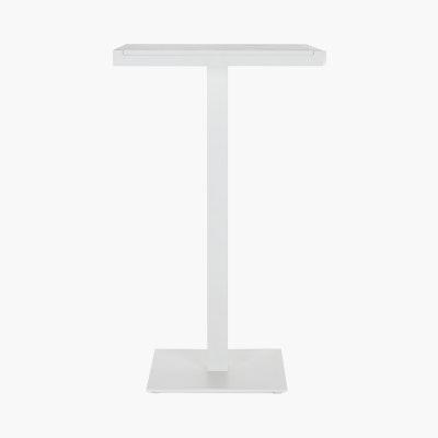 Eos Pedestal Bar-Height Table