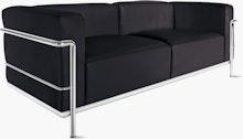 LC3 Grand Modele Three-Seater Sofa
