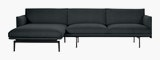 Outline Sectional Chaise