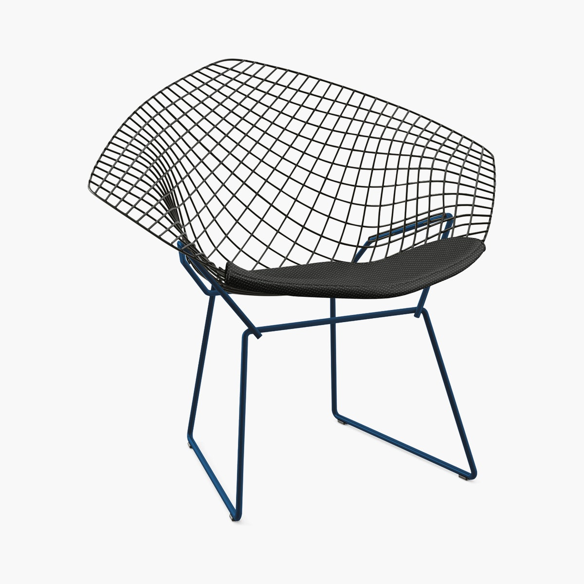 Bertoia Diamond Lounge Chair, Two-Tone