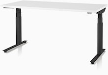 Nevi Sit to Stand T Foot,  24x48 with Crossbeam,  Extended Height Range