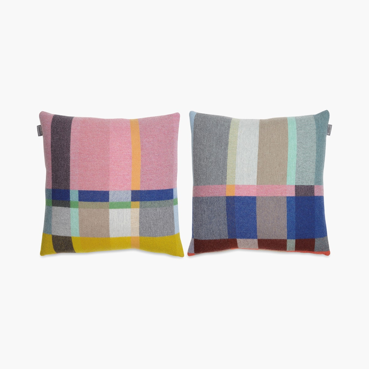 Lloyd Lambswool Block Pillow