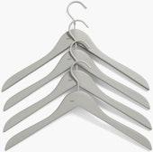 HAY Soft Coat Hanger Slim, Set of 4