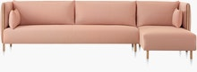 ColourForm Three Seat Sofa and Chaise (Non-Quilted)