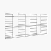 "30"" High - 3 Bays - 24"" Wide Shelves"