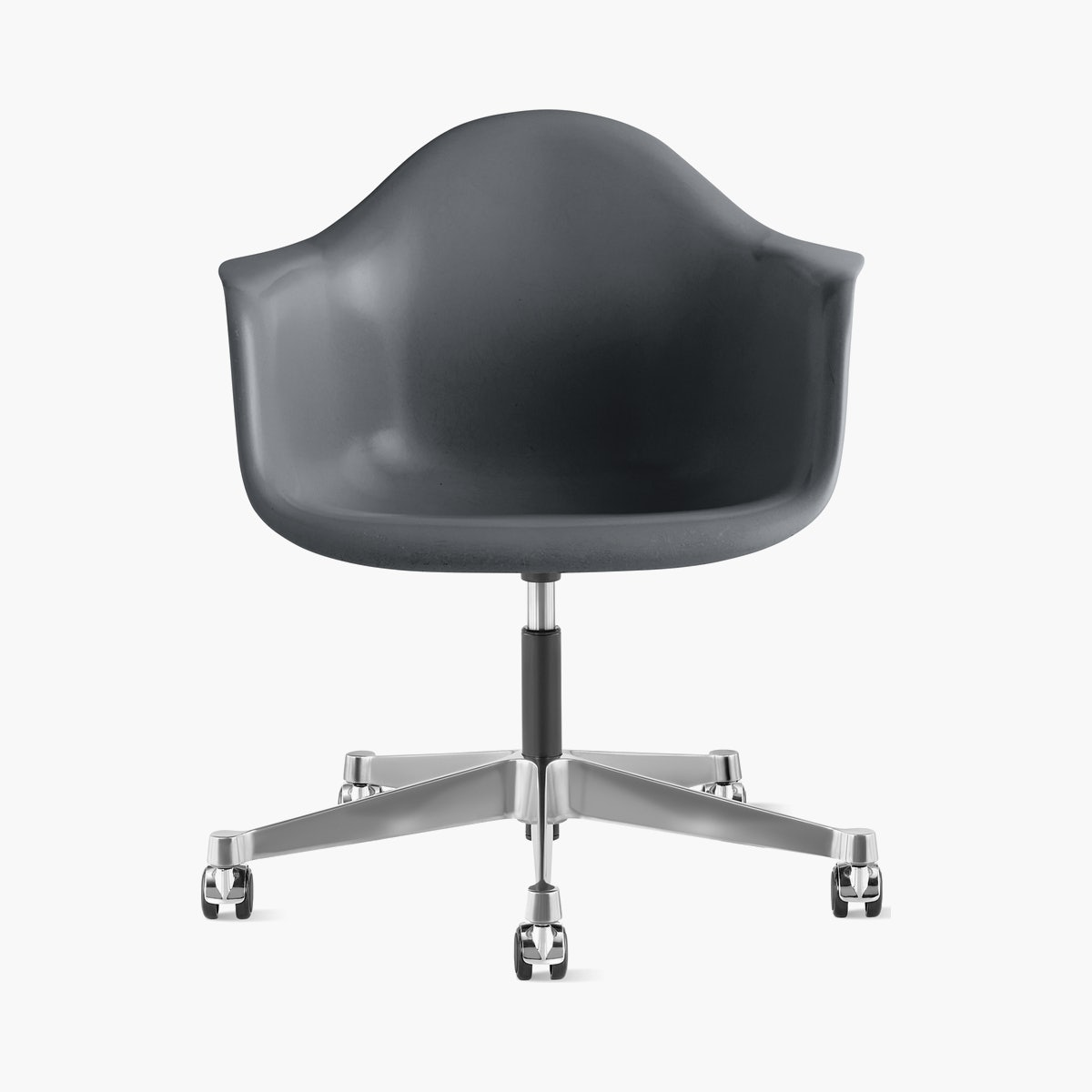 Eames Task Chair, Molded Fiberglass Armchair