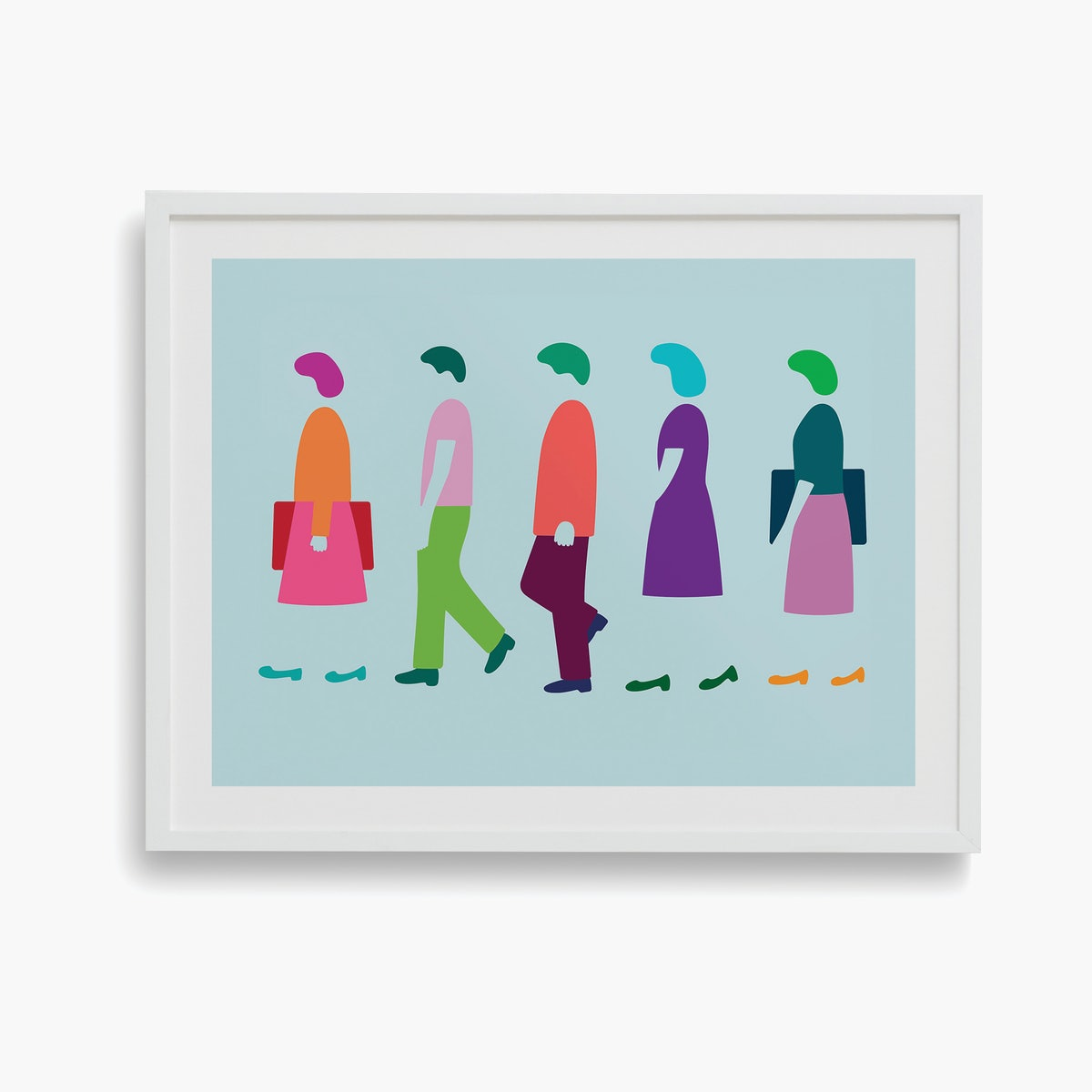 """Five Women Walking"" by Dana Bell"