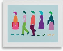 Five Walking,  Dana Bell