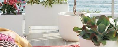 Outdoor Planters + Pots