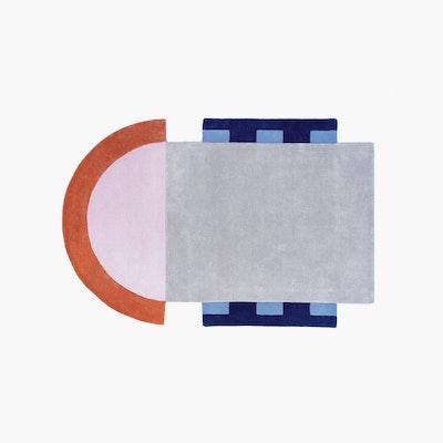 Abstract Key Rug