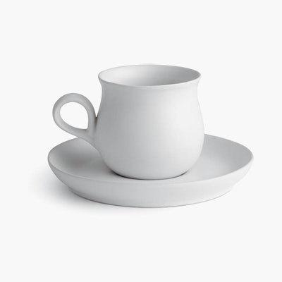 Eva Zeisel Granit Teacup and Saucer Set