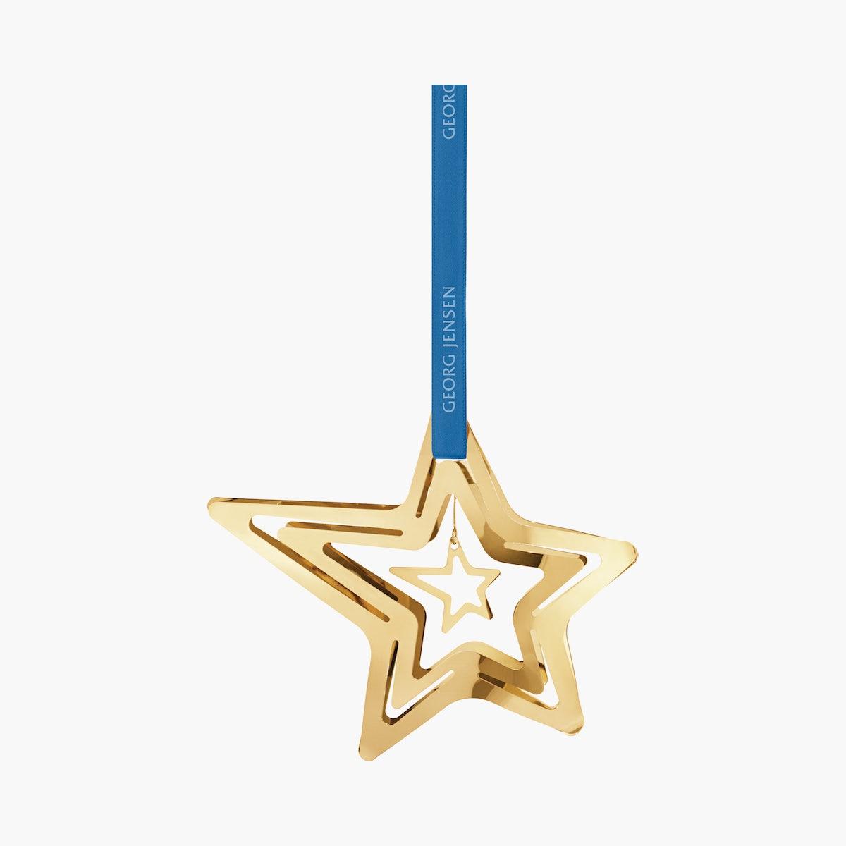 Georg Jensen Star Ornaments, 5 Point