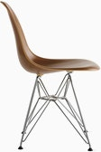 Eames Molded Wood Wire-Base Side Chair (DWSR)