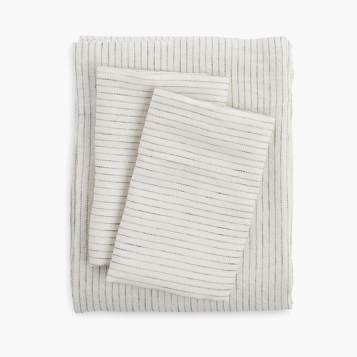 DWR Sheet Set - Linen, Stripe