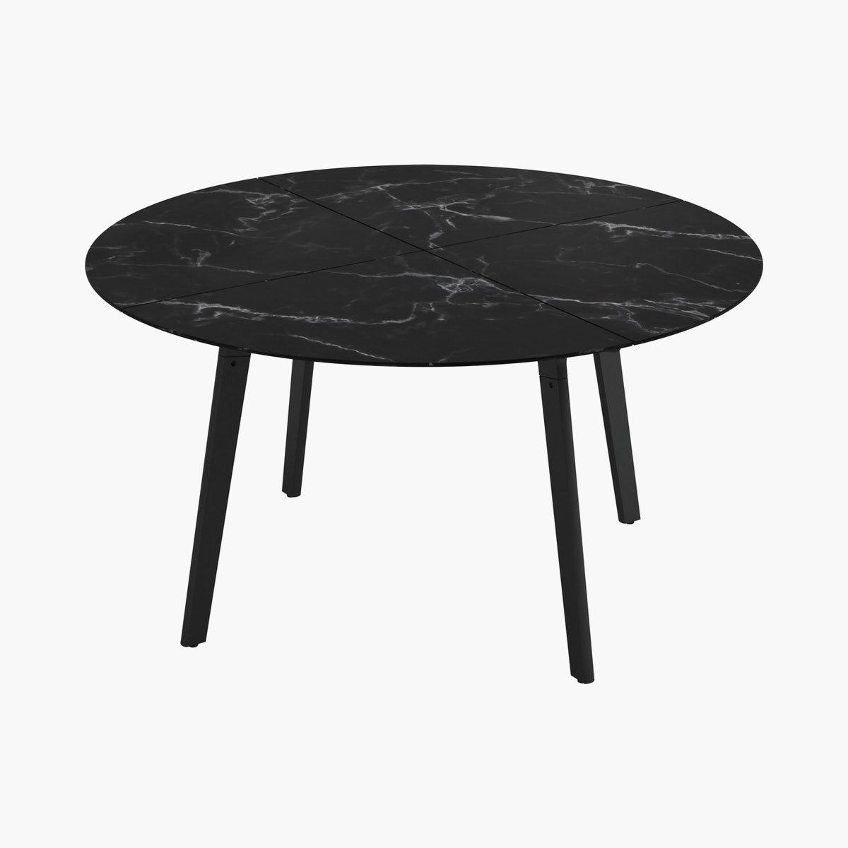 Carver Dining Table, Round