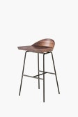 CB Spindle Low Back Bar Stool