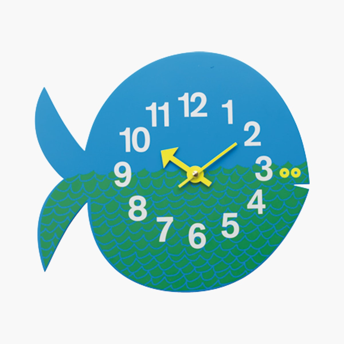 Nelson Fernando The Fish Wall Clock