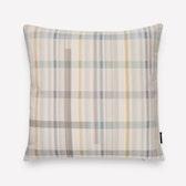 Darning Sampler Plaid Pillow