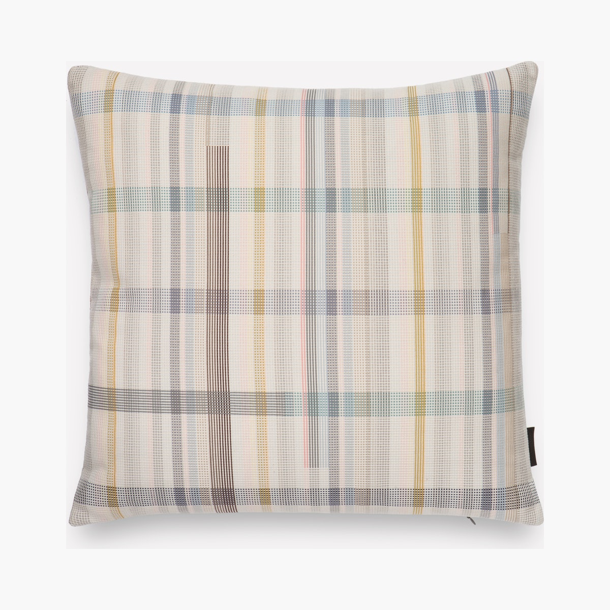 Darning Sampler Plaid Pillow