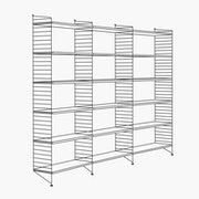 "3 Bays - 79"" High - 32"" Wide Shelves"