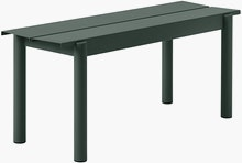 Linear Steel Bench,  110cm