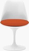 Saarinen Tulip Side Chair, Upholstered Seat