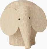 Nunu Elephant Figurine