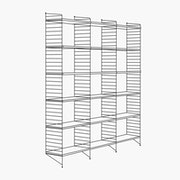 "3 Bays - 79"" High - 24"" Wide Shelves"