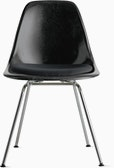 Eames Molded Fiberglass Side Chair with Seat Pad (DWR)
