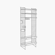 "Chef/Stemware/Sommelier - 1 Bay - 32"" Wide Shelves"
