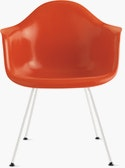 Eames Molded Fiberglass 4-Leg Armchair (DFAX)