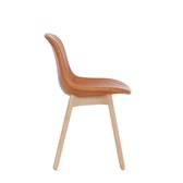Neu 13 - Upholstered Side Chair Wood Base