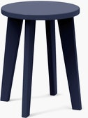 Norm Dining Stool,  Navy Blue
