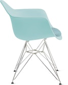 Eames Molded Plastic Armchair with Seat Pad