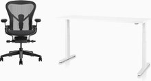 Aeron Chair - Motia Desk WFH Bundle