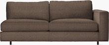 Reid One-Arm Sofa, Reid One-Arm Sleeper Sofa