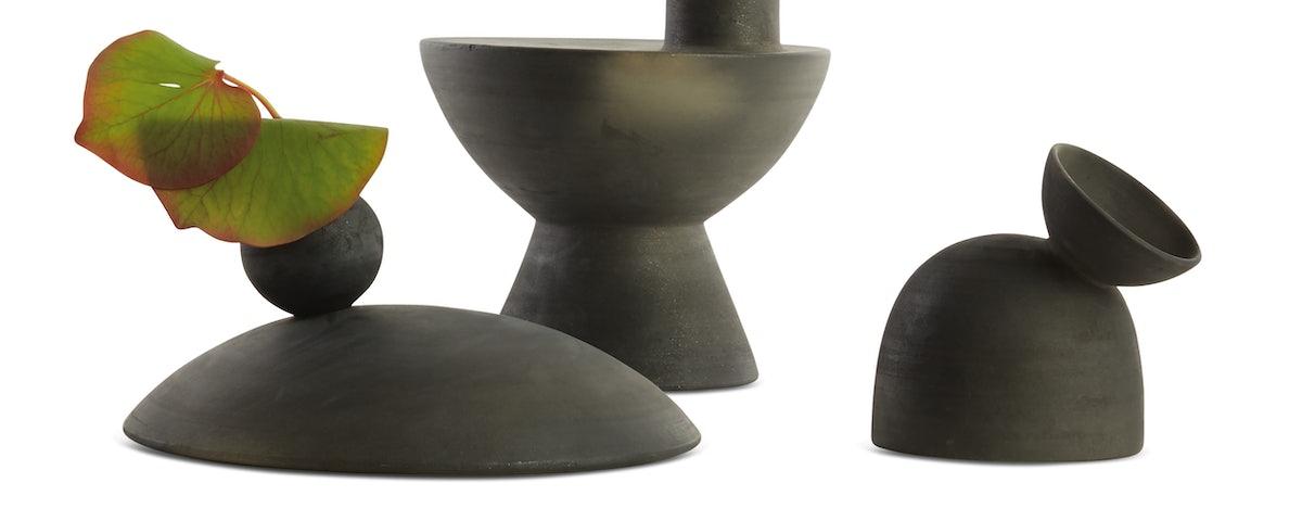 Charred Vases