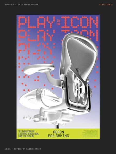 Aeron Gaming, Hassan Rahim Poster Concept